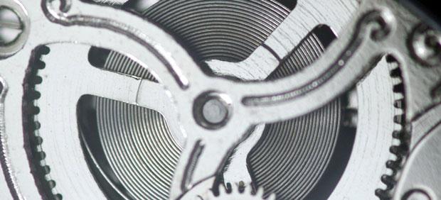 Componentes internos de los relojes