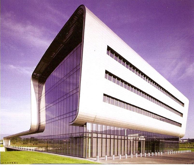 Edificio de Vacheron constantin en Suiza