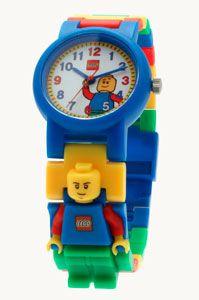 reloj para niños Lego multicolor