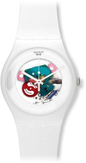 Reloj Swatch unisex en blanco