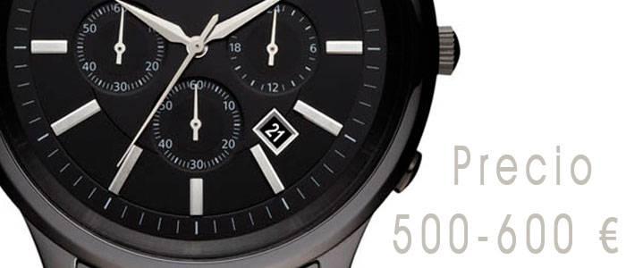 Relojes de hombre con precio entre 500 y 600 euros