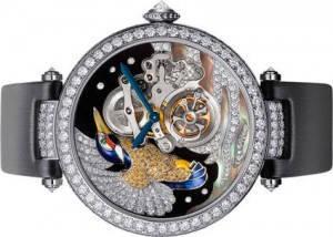 Reloj cartier tourbillon pajaro
