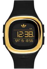 reloj adidas dorado
