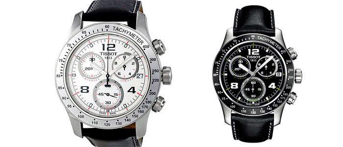 reloj tissot v8 cronografo